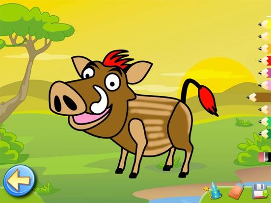 サバンナ:子供のためのパズルとカラー , 知育 ぱずる, 幼児 知育 無料 子ども向け ゲーム 無料のおすすめ画像5