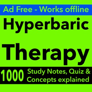 Hyperbaric Therapy Exam Review App-Terms & Quiz