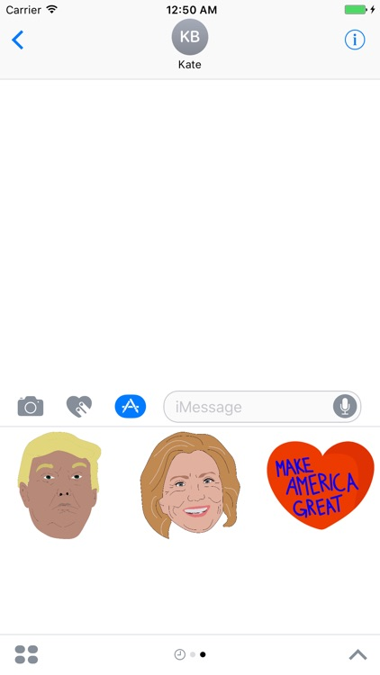 American Election Stickers screenshot-0