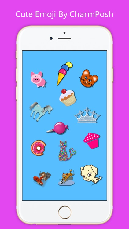 Cute Emoji By CharmPosh screenshot-0