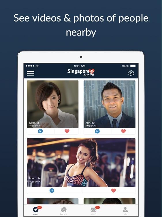 Social dating app Singapore