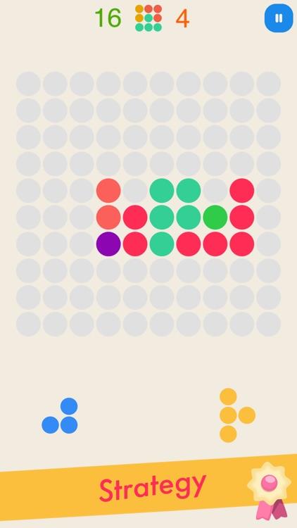 Bricksis: FREE Puzzle Color Dots Game screenshot-3