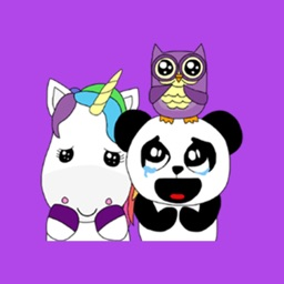 Cute Animals Colorfull Stickers for iMessage