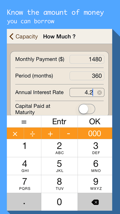 Mortgages & Loan payment calculator with schedule-3