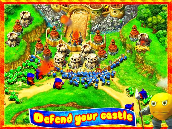 Колобки: Война и Драки! Игры стратегии для iPad