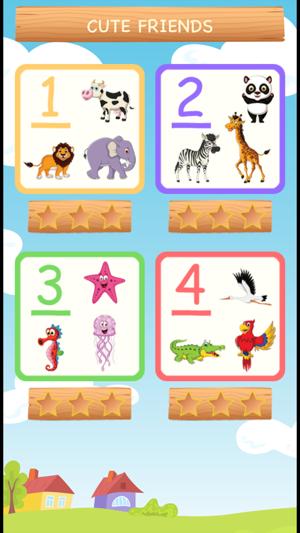 Learning Cute Animals Screenshot