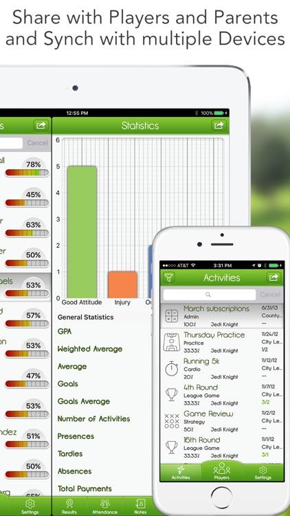 iGrade for Soccer Coach (Lineup, Score, Schedule) screenshot-3