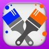 Family Finger Painting with AirPlay - iPhoneアプリ