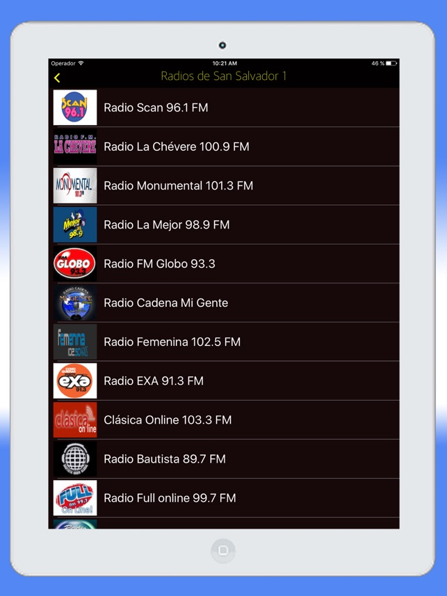 Radio El Salvador FM - Live Radios Stations Online on the