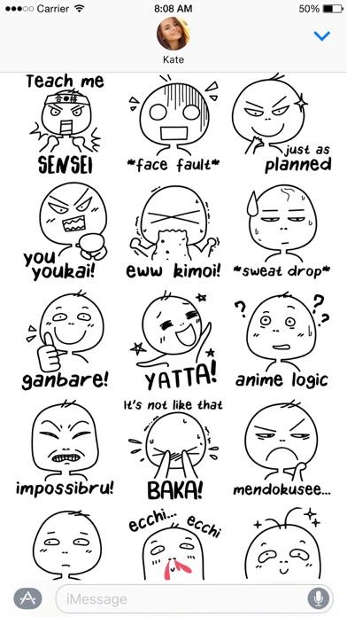 Otaku Lingo stickersScreenshot of 4