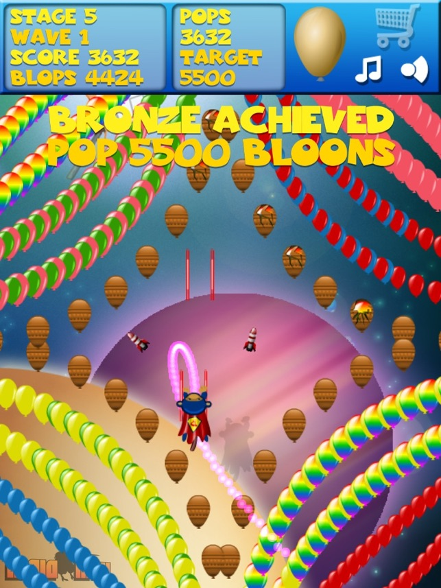 Bloons Super Monkey, game for IOS