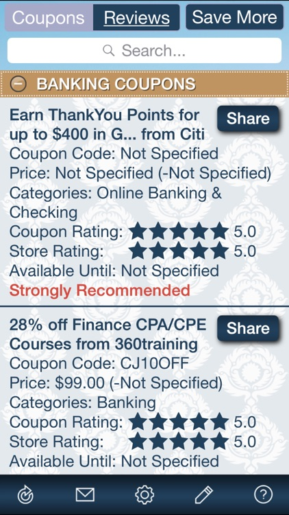 Finance Coupons, Free Finance Discount