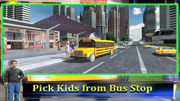 School Bus Driver 3D 2016