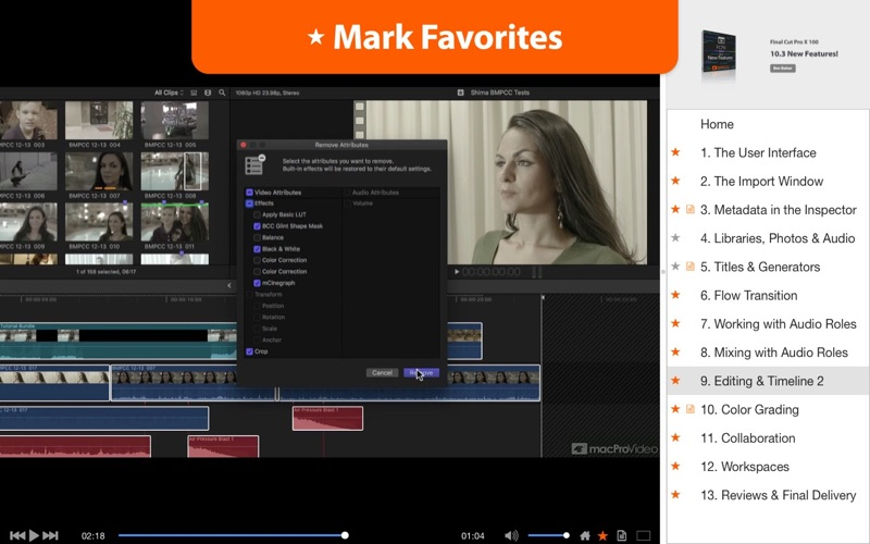 FCPX 10.3 New Features Screenshot