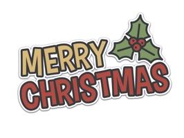 Xmas Stickers - Christmas