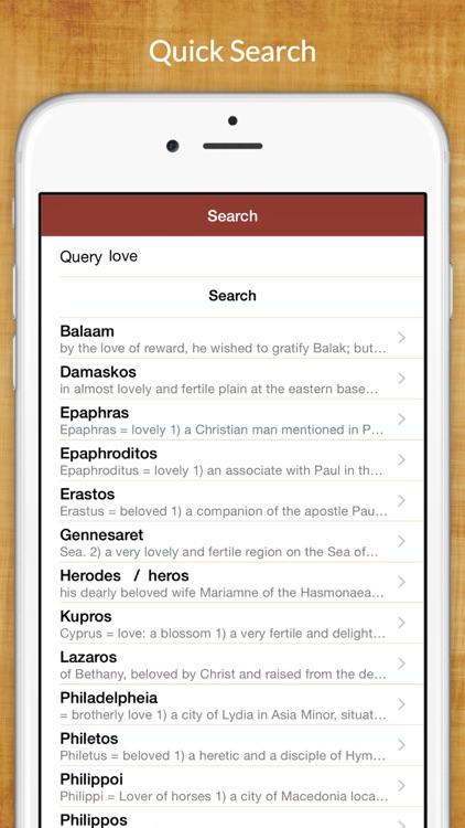 5,200 Greek Bible Dictionary screenshot-4