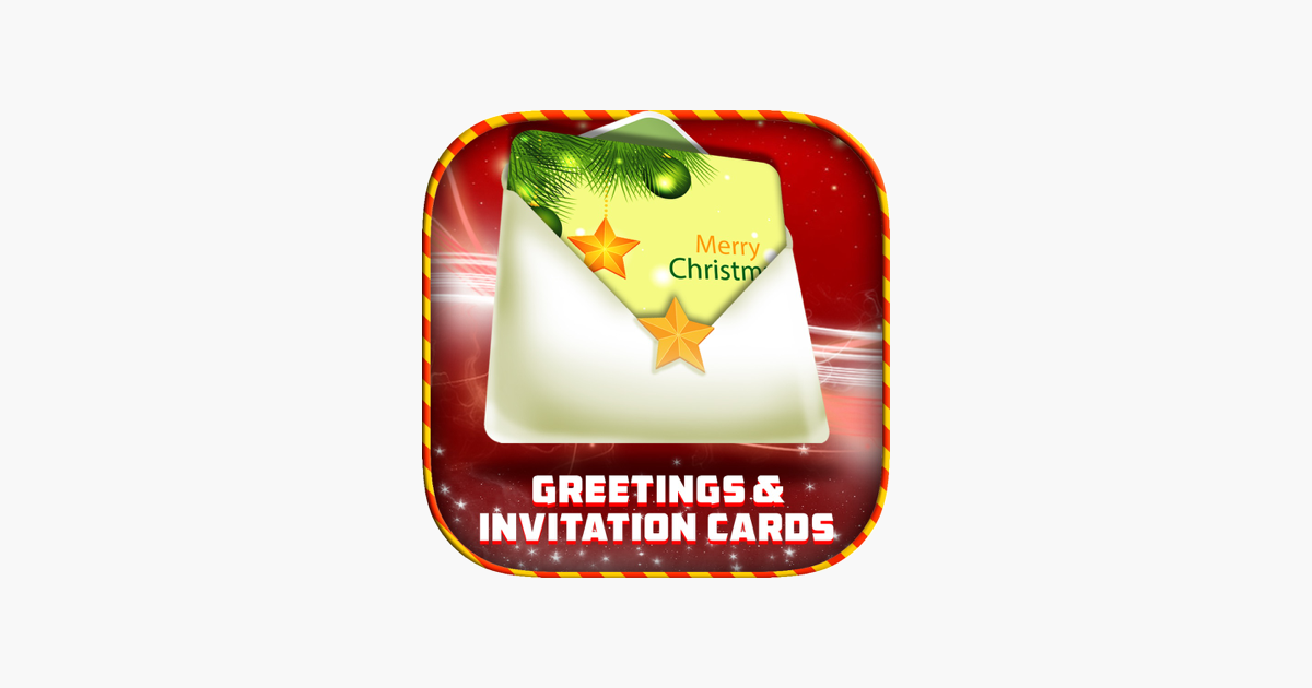 Invitation And Greeting Cards Christmas On The App Store