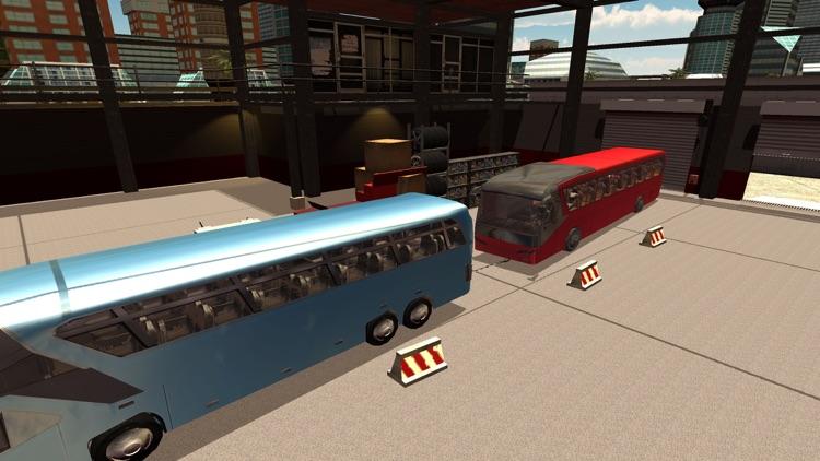 Offroad Tourist Bus Driving Transport Simulator screenshot-4