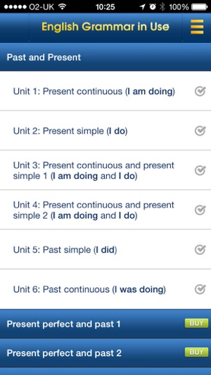 English grammar in use sample on the app store screenshots fandeluxe Image collections