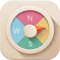 Color Compass - Test Your Brain Reflex and Improve Mental Focus