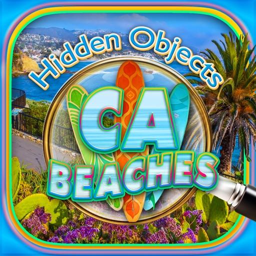 Hidden Objects California Beaches & Ocean Puzzle