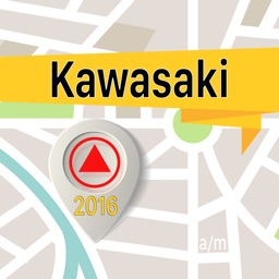 Kawasaki Offline Map Navigator and Guide
