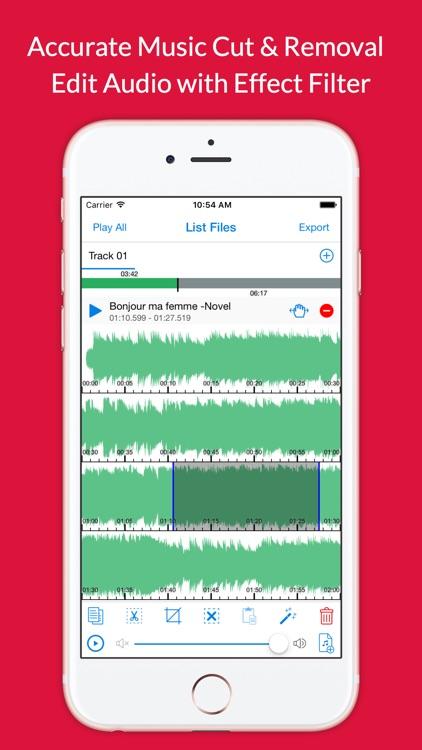 Audio Cutter Premium - Cut Music Effect & Audacity Voice Filter Recorder