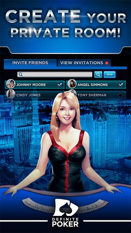 Definite Poker™ - Texas Holdem screenshot-4