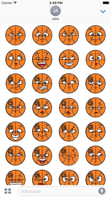 Basketball Sticker Emojis