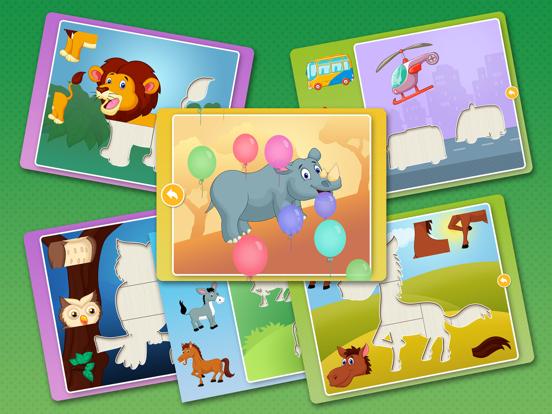 Скачать игру Детские развивающие пазлы игры для детей, малышей