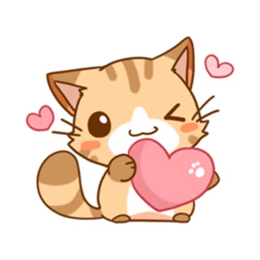 Lovely Cat Sticker