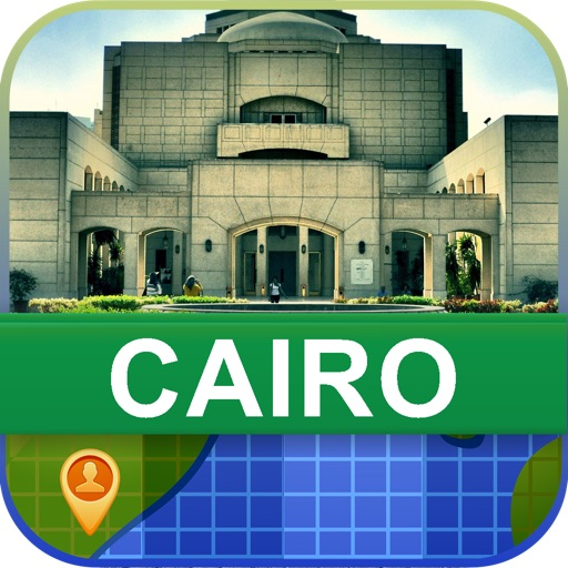 Offline Cairo, Egypt Map - World Offline Maps icon