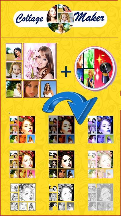 Photo Collage éditeur -Collage Maker Pro screenshot-3
