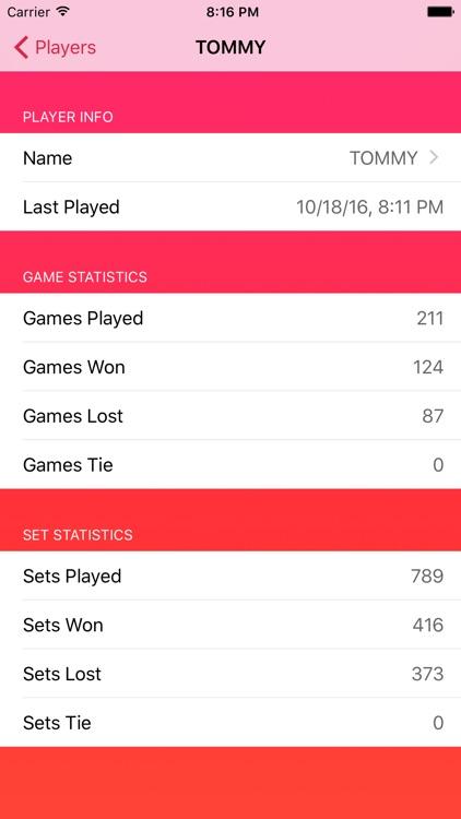 Racket Scoreboard screenshot-4