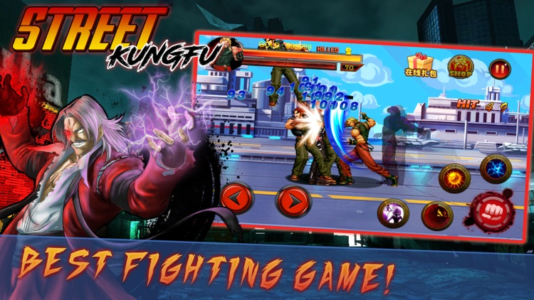 Combatant King - Classic Fighting game