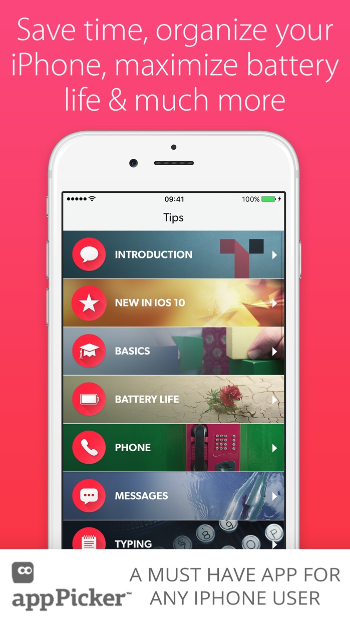 Tips & Tricks - for iPhone Screenshot