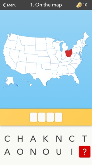 50 States Flag Capital And Us Map Quiz On The App Store