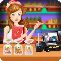Supermarket Girl Shopping Games for Girls