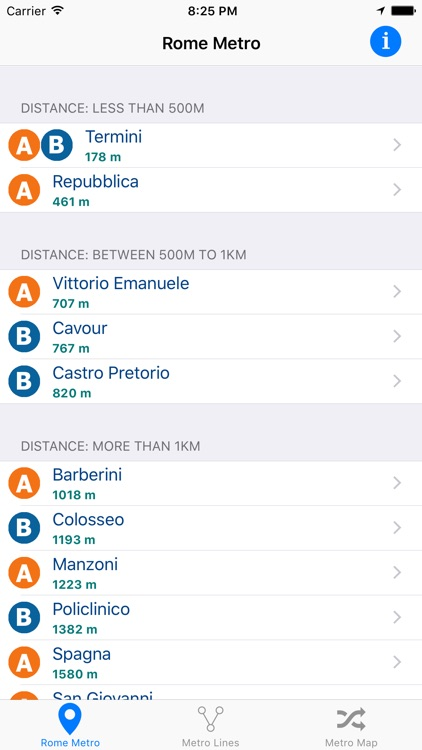 Rome iMetro screenshot-0
