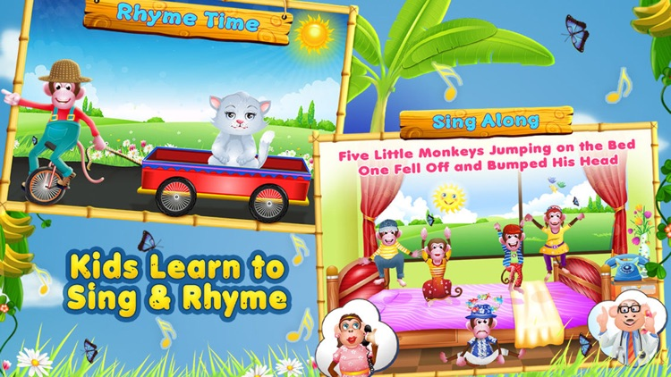 5 Little Monkeys - Activities & Sing Along