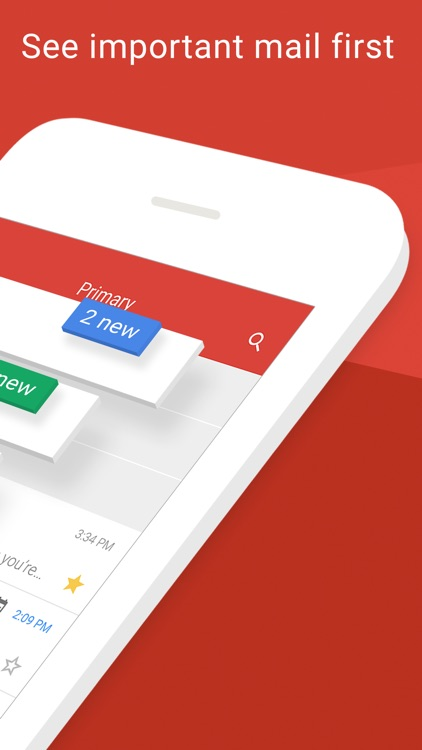 Gmail - email by Google: secure, fast & organized app image