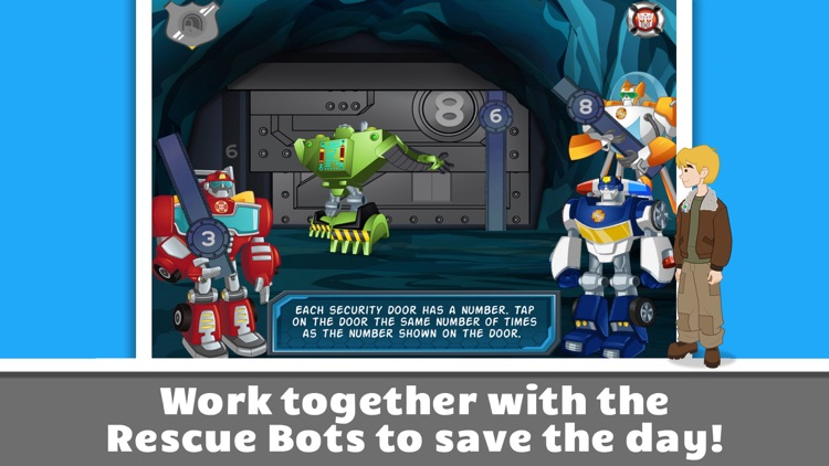 Transformers Rescue Bots: Save Griffin Rock screenshot-4