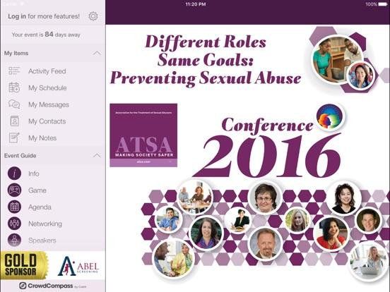 ATSA Events (Conference App)-ipad-2