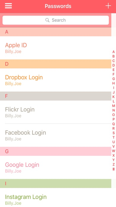 Password Organizer Pro - Secure Passwords and Pics | App Price Drops