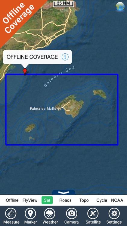 Baleares  GPS Map Navigator screenshot-4