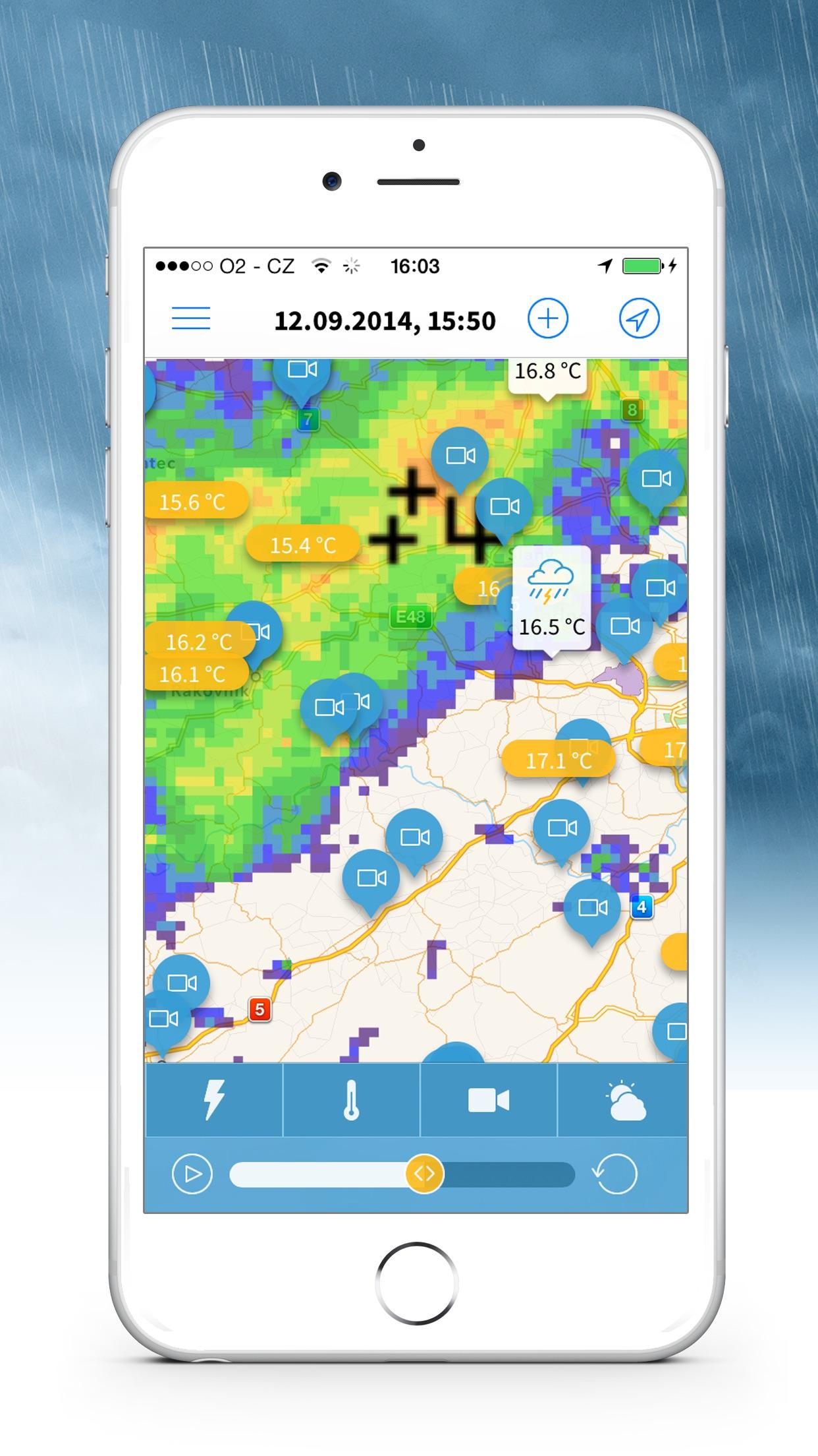 Meteoradar Screenshot