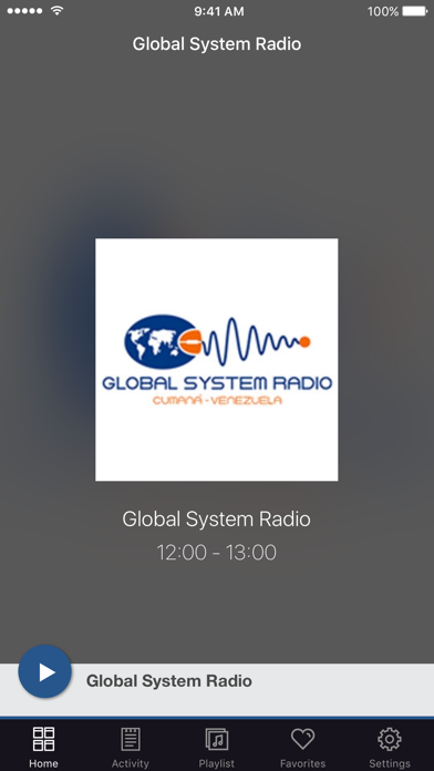 Global System Radio screenshot one