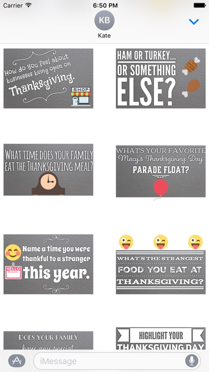 GladLibs: Thanksgiving Prompts screenshot-3