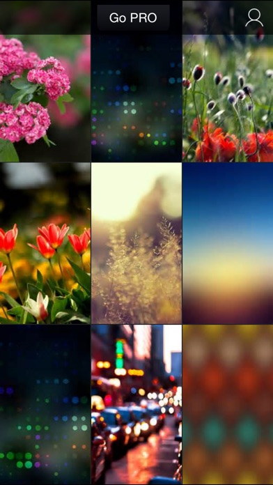 Blur Wallpapers - Amazing Blurred Photos Catalog screenshot one