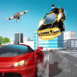 Secret Agent Flying Car Chase - Real Life Crime 3D